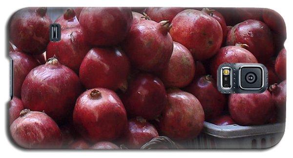 Pomegranates At Jerusalem's Old City Market Galaxy S5 Case