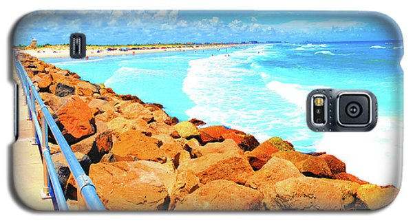Ponce Inlet Jetty  Galaxy S5 Case
