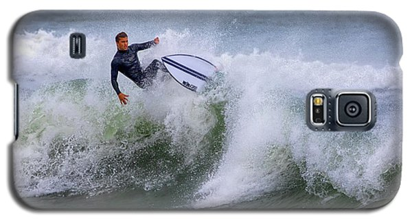 Galaxy S5 Case featuring the photograph Ponce Surf 2017 by Deborah Benoit