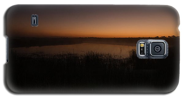 Pond And Cattails At Sunrise Galaxy S5 Case