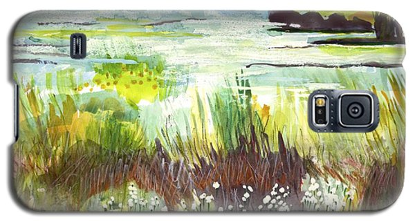 Pond And Plants Galaxy S5 Case