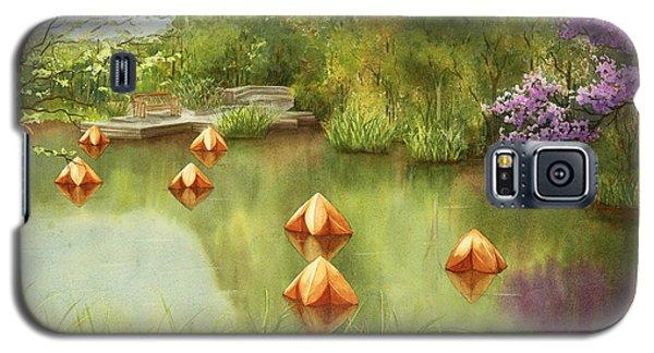 Pond At Olbrich Botanical Garden Galaxy S5 Case