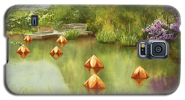 Pond At Olbrich Botanical Garden Galaxy S5 Case