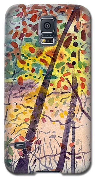 Pond In Fall Galaxy S5 Case by Donald Maier