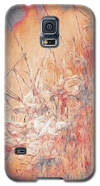 Galaxy S5 Case featuring the photograph Pond In Fall by William Wyckoff