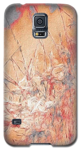 Pond In Fall Galaxy S5 Case by William Wyckoff