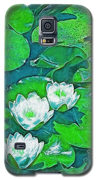 Galaxy S5 Case featuring the photograph Pond Lily 2 by Pamela Cooper