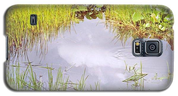 Pond Ripples Photo Galaxy S5 Case