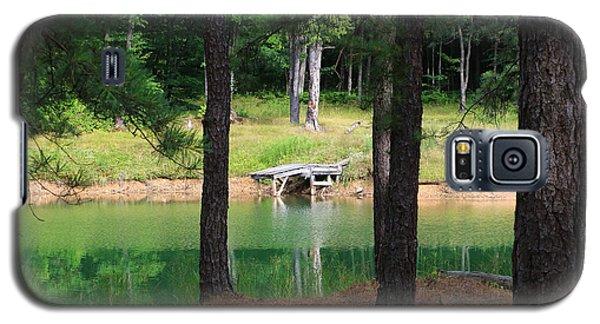Pond Side Dock Galaxy S5 Case