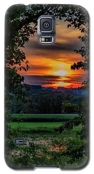 Pond Sunset  Galaxy S5 Case