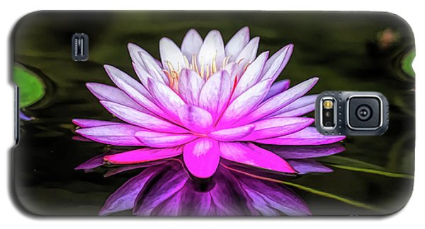 Pond Water Lily Galaxy S5 Case