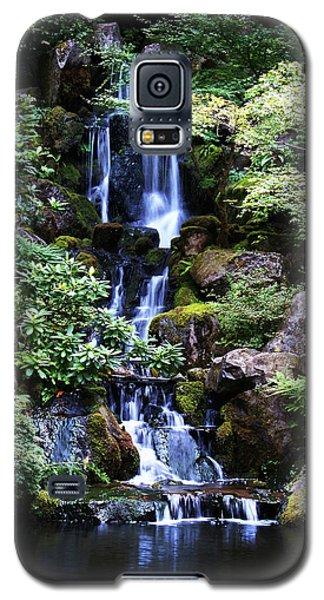 Pond Waterfall Galaxy S5 Case