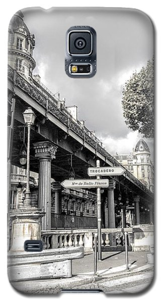 Pont De Bir-hakeim, Paris, France Galaxy S5 Case