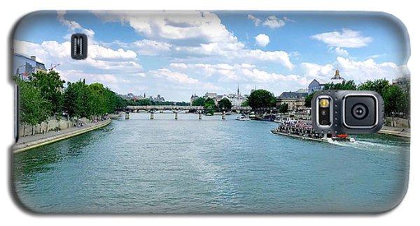 River Seine At Pont Du Carrousel Galaxy S5 Case
