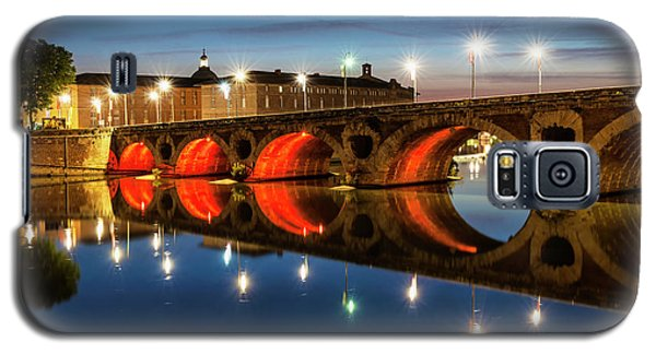 Galaxy S5 Case featuring the photograph Pont Neuf In Toulouse by Elena Elisseeva