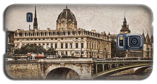 Paris, France - Pont Notre Dame Oldstyle Galaxy S5 Case