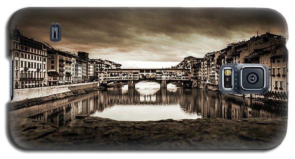 Ponte Vecchio In Sepia Galaxy S5 Case