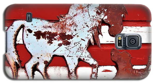 Pony And Pup Galaxy S5 Case by Larry Campbell