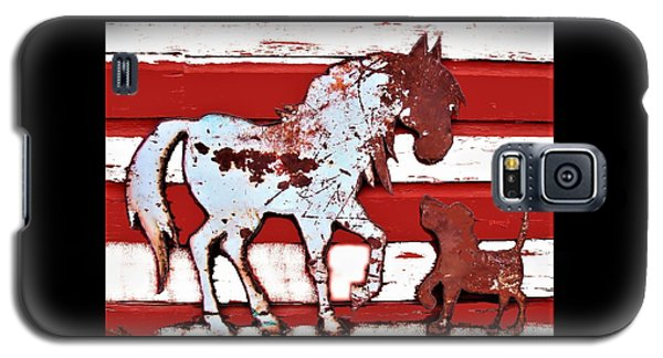 Pony And Pup Galaxy S5 Case