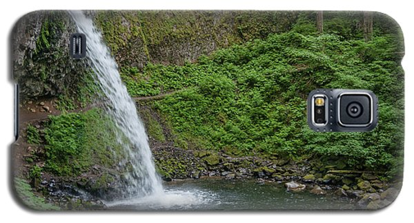 Galaxy S5 Case featuring the photograph Ponytail Falls by Greg Nyquist