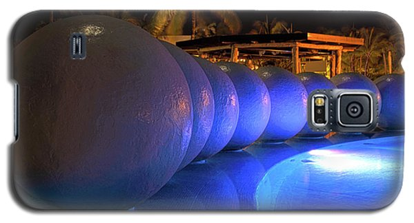 Galaxy S5 Case featuring the photograph Pool Balls At Night by Shane Bechler