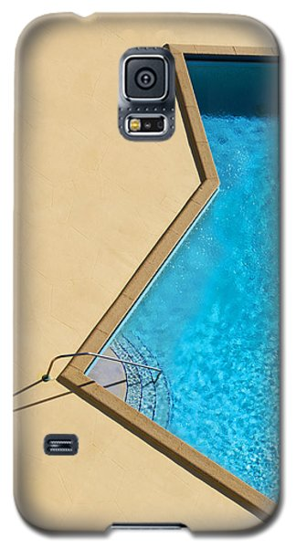 Galaxy S5 Case featuring the photograph Pool Modern by Laura Fasulo