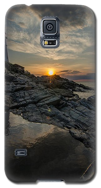 Galaxy S5 Case featuring the photograph Pool Of Light by Paul Noble