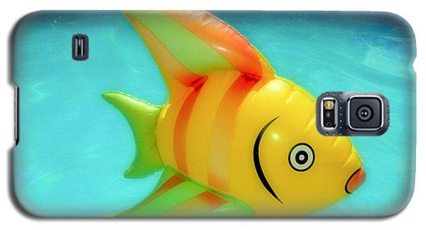 Pool Toy Large Polaroid Transfer Galaxy S5 Case