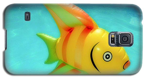 Pool Toy Large Polaroid Transfer Galaxy S5 Case