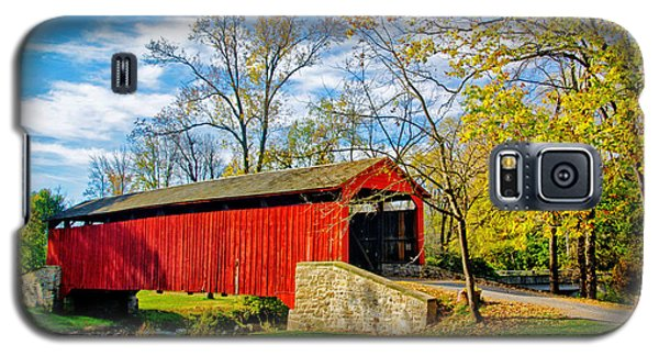 Poole Forge Covered Bridge Galaxy S5 Case