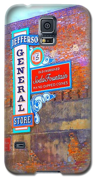 Galaxy S5 Case featuring the photograph Pop Art General Store by Ellen O'Reilly