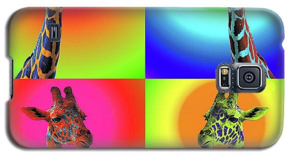 Pop Art Giraffe Galaxy S5 Case