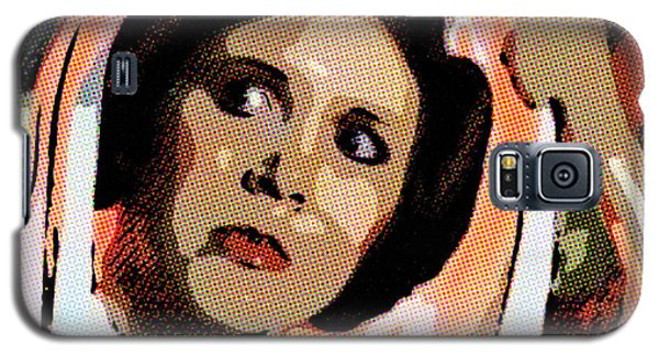 Pop Art Princess Leia Organa Galaxy S5 Case