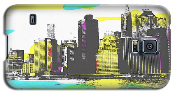Pop City Skyline Galaxy S5 Case