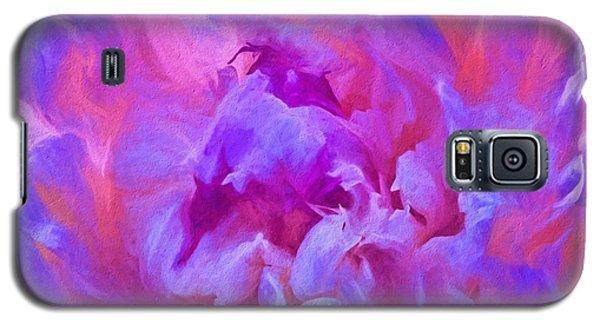Pop Pink Peony Galaxy S5 Case