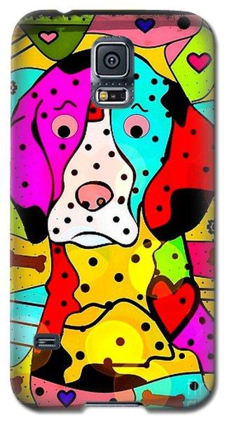 Popart Dog By Nico Bielow Galaxy S5 Case