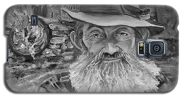 Popcorn Sutton - Black And White - Rocket Fuel Galaxy S5 Case