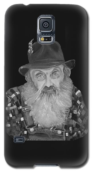 Popcorn Sutton Moonshiner Bust - T-shirt Transparent B And  W Galaxy S5 Case