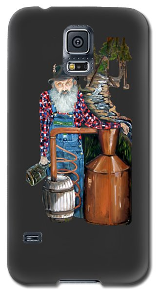 Popcorn Sutton Moonshiner -t-shirt Transparrent Galaxy S5 Case