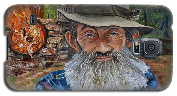 Popcorn Sutton - Rocket Fuel -white Whiskey Galaxy S5 Case