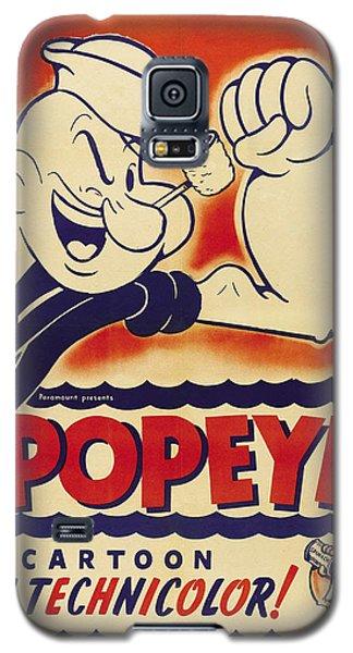 Popeye Technicolor Galaxy S5 Case