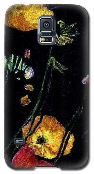 Poppies 2 Galaxy S5 Case by Dana Patterson