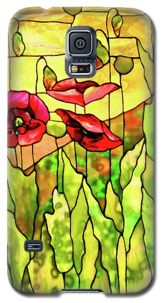 Galaxy S5 Case featuring the photograph Poppies 2 by Kristin Elmquist