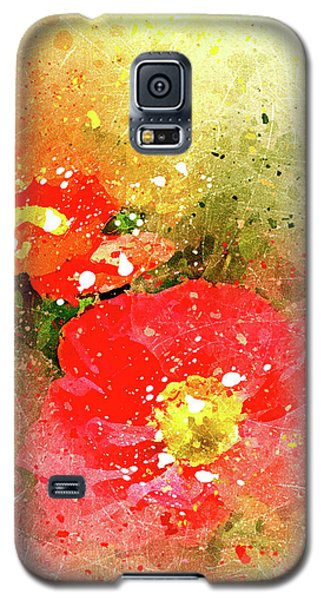 Poppies 5 S Galaxy S5 Case