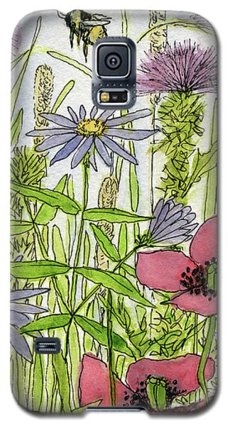 Poppies And Wildflowers Galaxy S5 Case