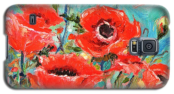 Poppies Delight Galaxy S5 Case