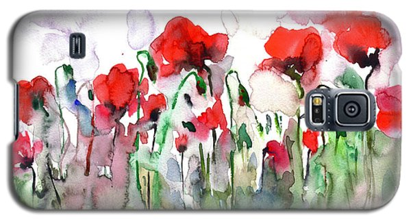 Poppies Galaxy S5 Case by Faruk Koksal