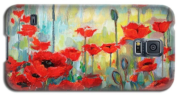 Poppies In Bloom Galaxy S5 Case