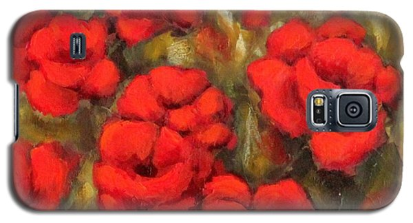 Poppies Passion Fragment Galaxy S5 Case