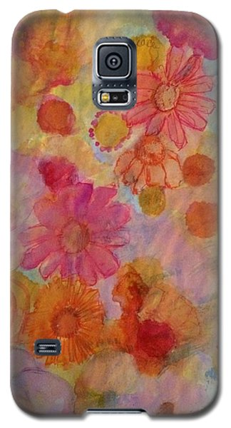 Popping Galaxy S5 Case by Kim Nelson